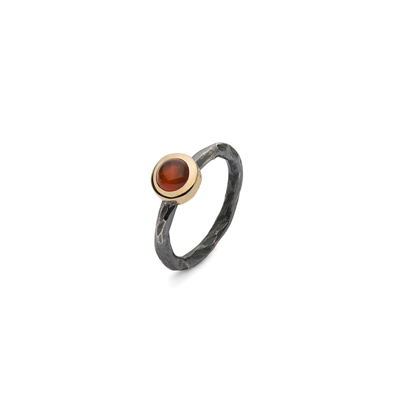 SAIGON RED ONYX STACKING RING