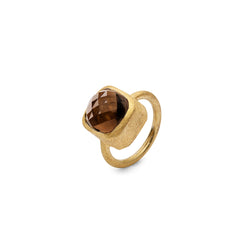 JAIPUR SMOKY QUARTZ RING