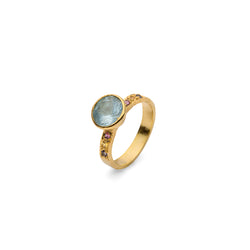 JAIPUR BLUE TOPAZ RING