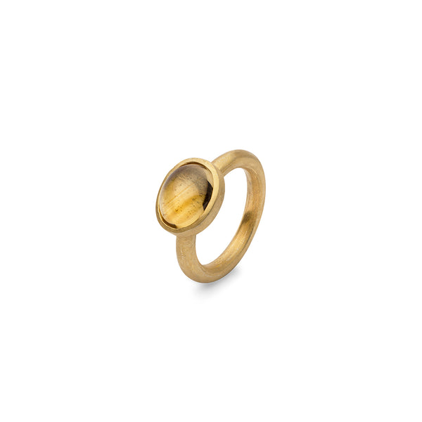 JAIPUR CITRINE STACKING RING