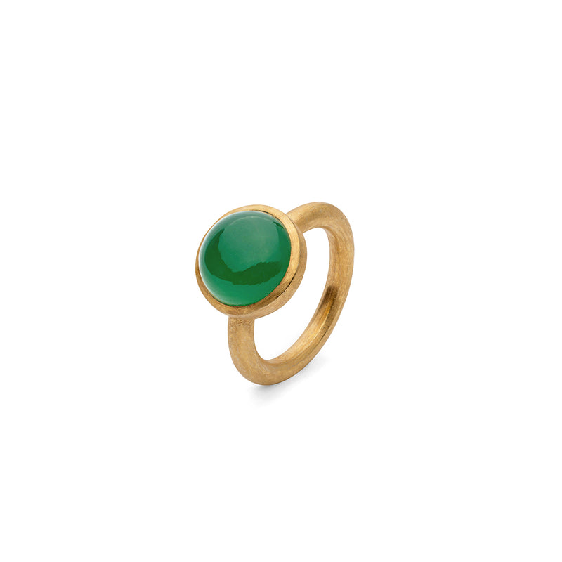 JAIPUR GREEN ONYX STACKING RING