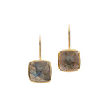 AMAZONIA CUSHION CUT EARRINGS