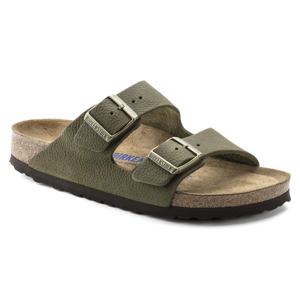 Birkenstock Arizona BS 1009942 soft footbed steer khaki