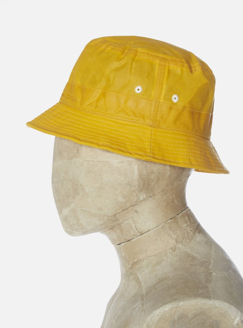 Universal Works Bucket Hat Tek Wax yellow