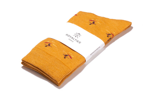 Moray Cashmere Beanie orange