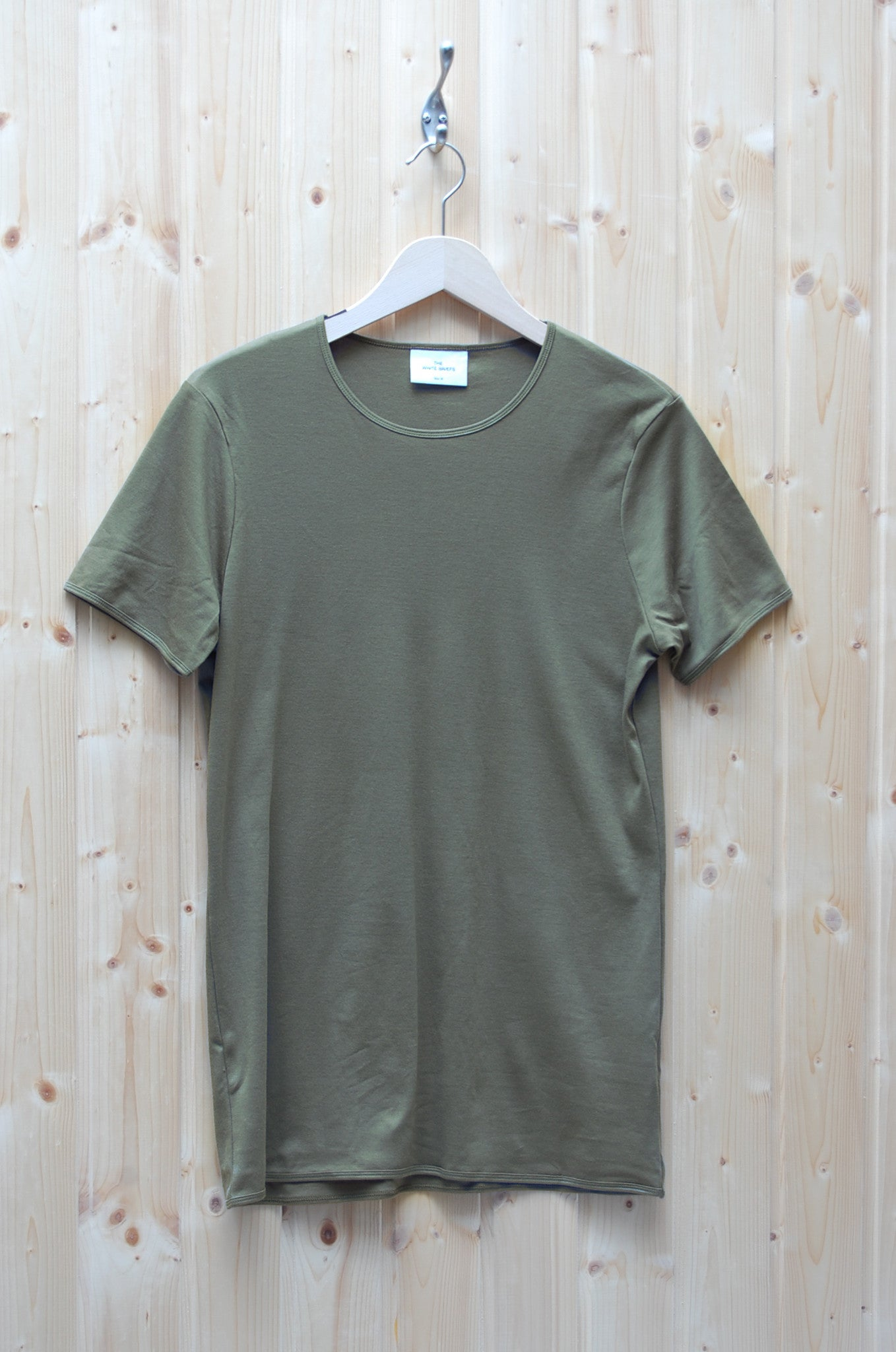 The White Briefs Earth dark olive