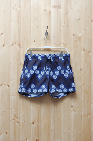 Saint Paul Swim Shorts Herringbone Flower
