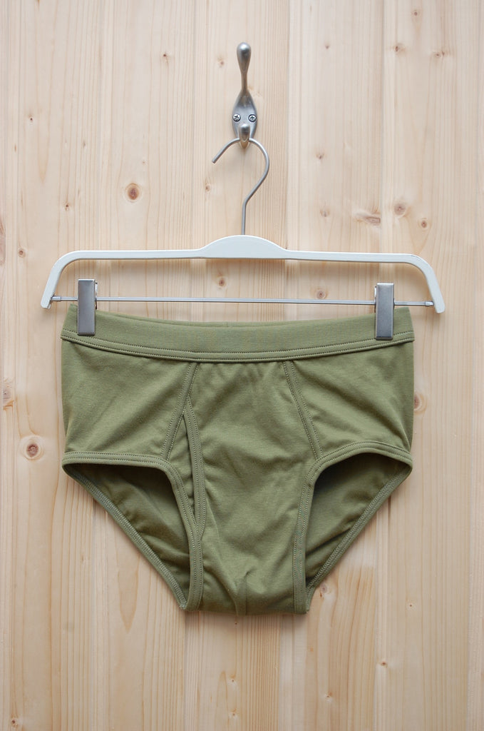The White Briefs Platan Olive