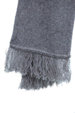 Noble Wilde Fringed Scarf shale
