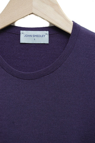 John Smedley Cleves astaire purple