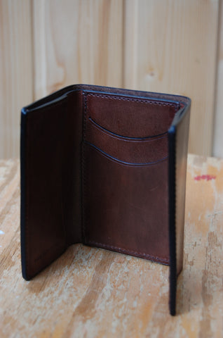 Il Bussetto Tri-fold Wallet brown