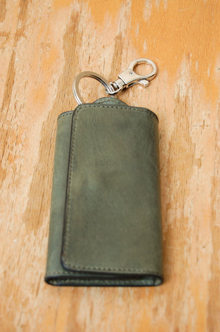 Il Bussetto Key Case forest green