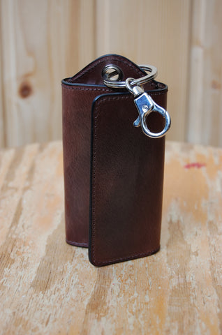 Il Bussetto Key Case brown
