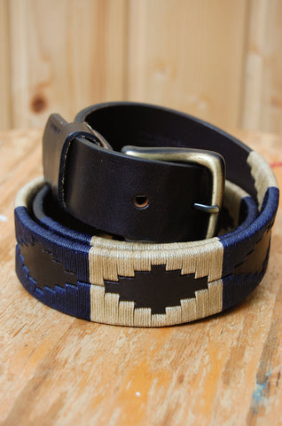 Iracional Polo Belt navy/cream