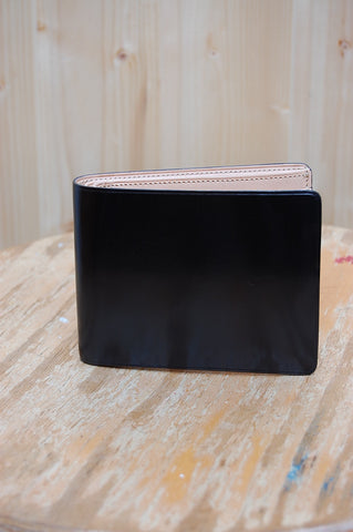 Il Bussetto Bi-fold Wallet Black