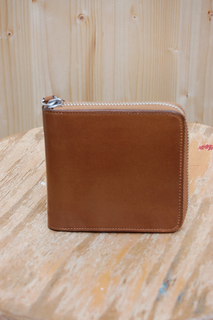 Zipped Wallet 11-012 Camel