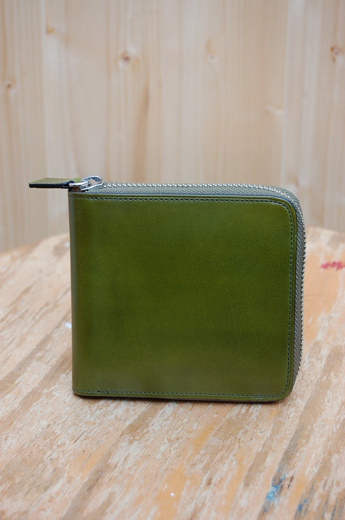Zipped Wallet 11-012 Light Green