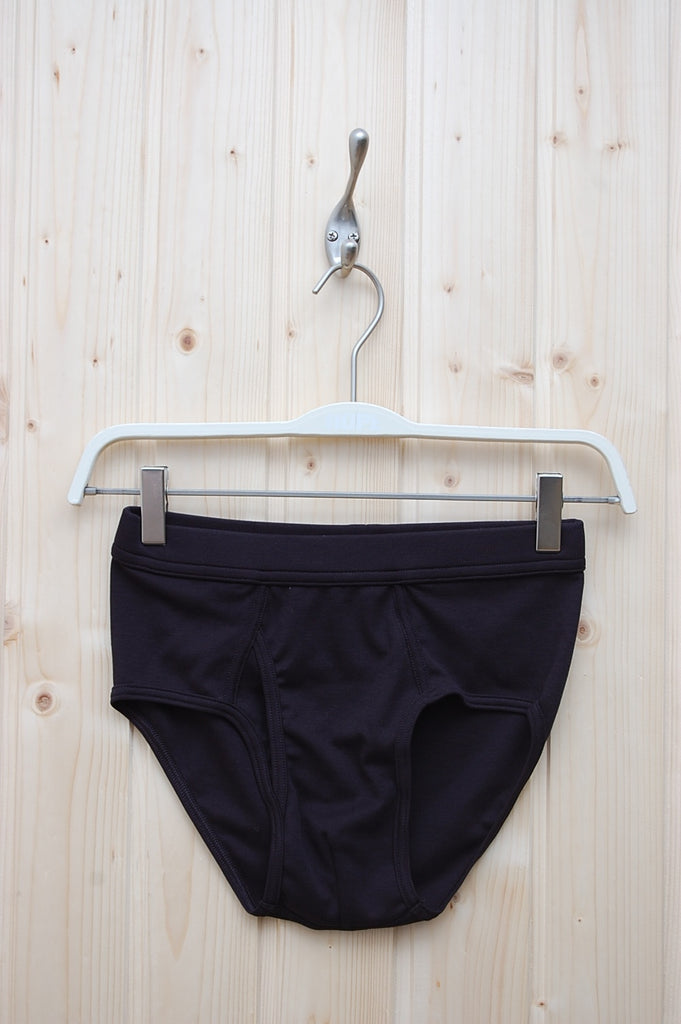 The White Briefs Platan Black