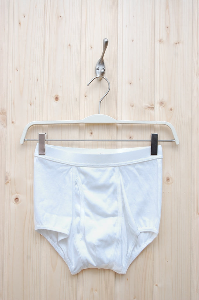 The White Briefs Elm White