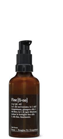 Fine organic body serum Energy