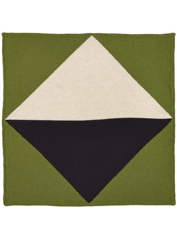 Jo Gordon Geometric Square Neckerchief palm