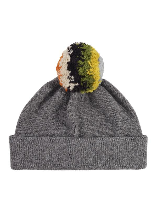 Jo Gordon shaggy pompom hat derby