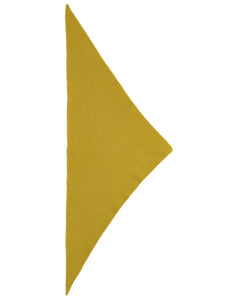 Jo Gordon Plain Triangle Neckerchief turmeric