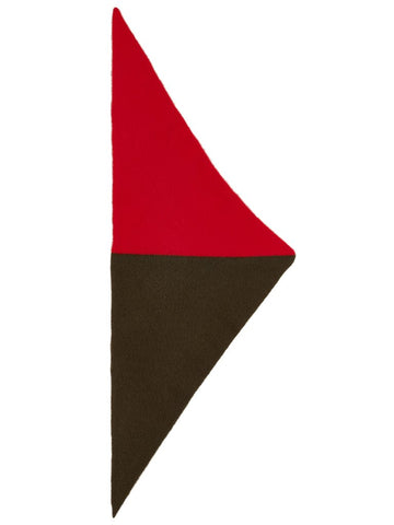 Jo Gordon Plain Triangle Neckerchief jungle