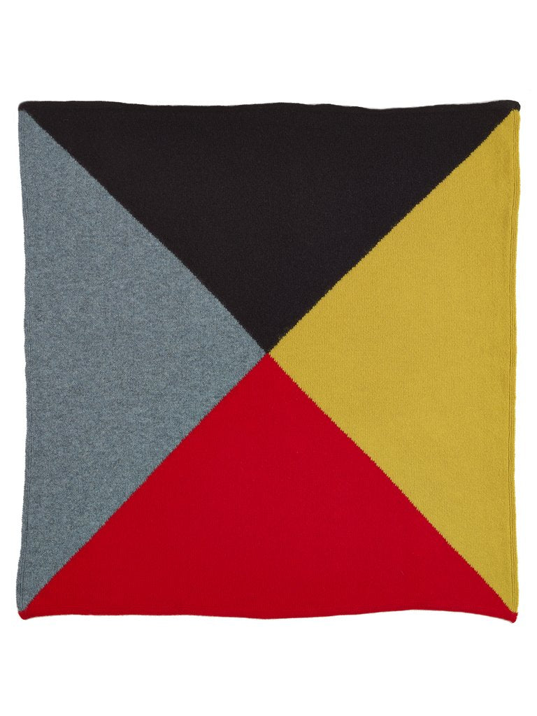 Jo Gordon Quarter Square Neckerchief multicolour