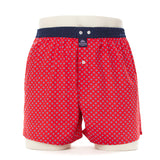 Mc Alson Boxer M3840 red/blue dots