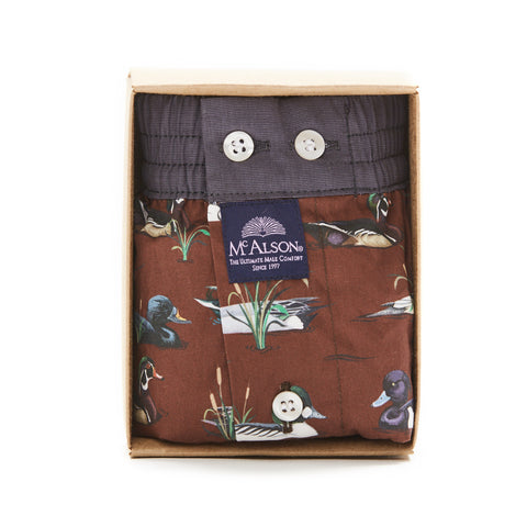 Mc Alson Boxer M3858 ducks brown