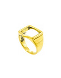Eins Berlin Frame Ring gold