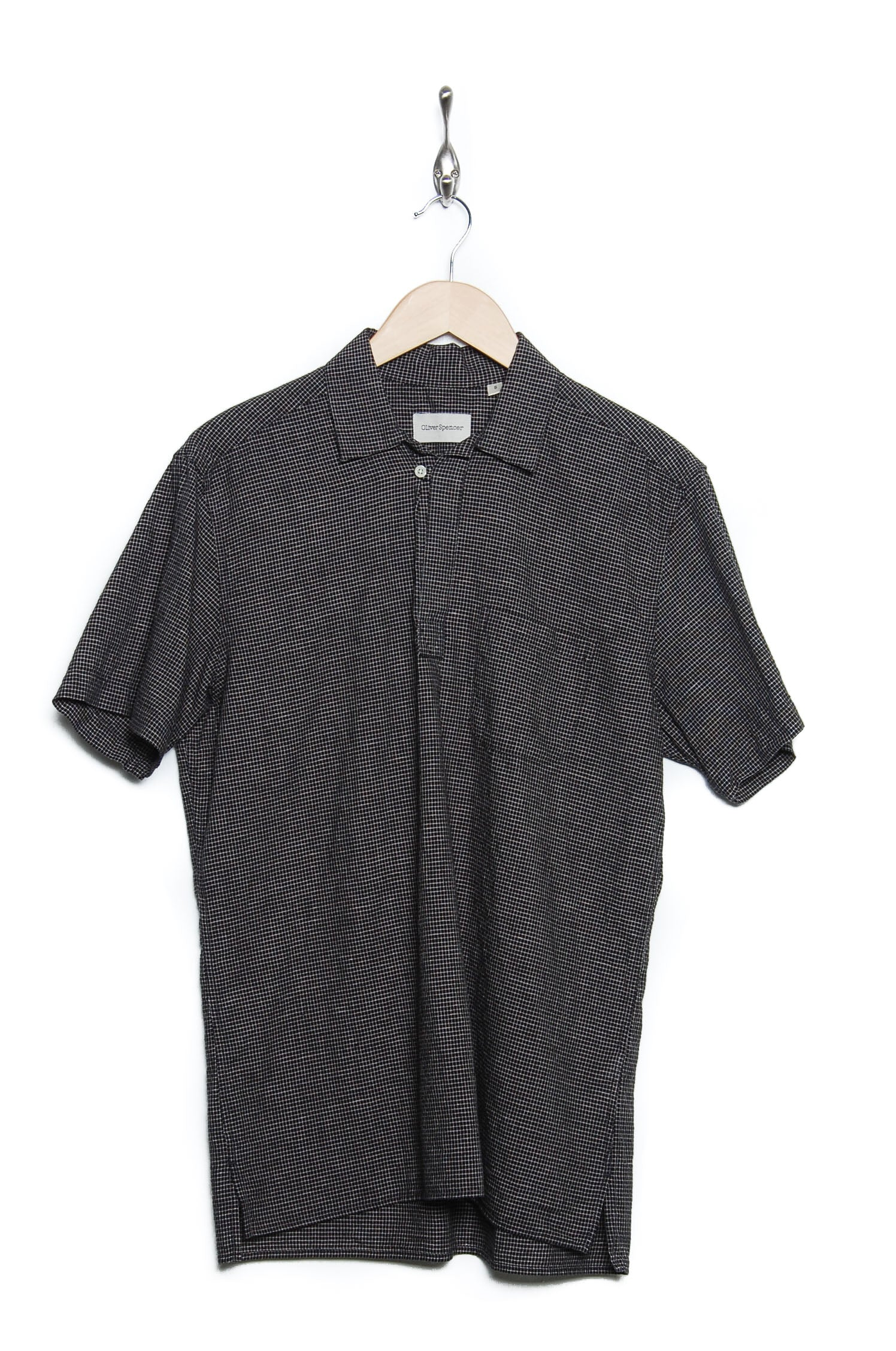 Oliver Spencer Yarmouth Shirt Kersley black