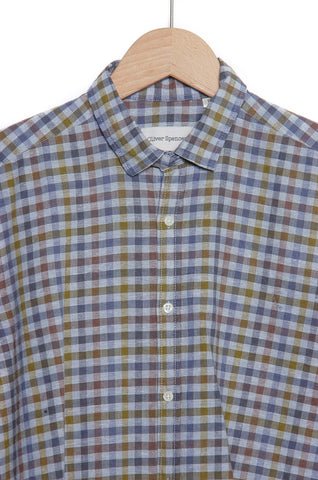 Oliver Spencer Clerkenwell Tab Shirt Palin multi check