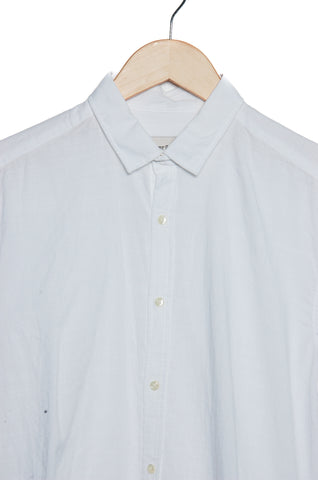 Oliver Spencer Clerkenwell Tab Shirt Elcot white