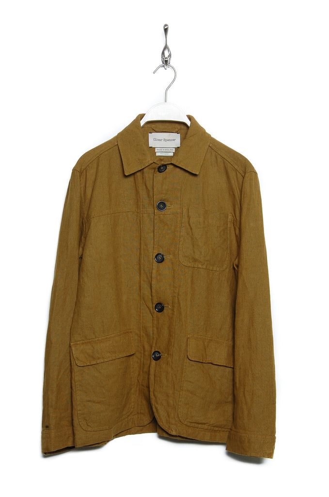 Oliver Spencer Cowboy Jacket Evering ochre
