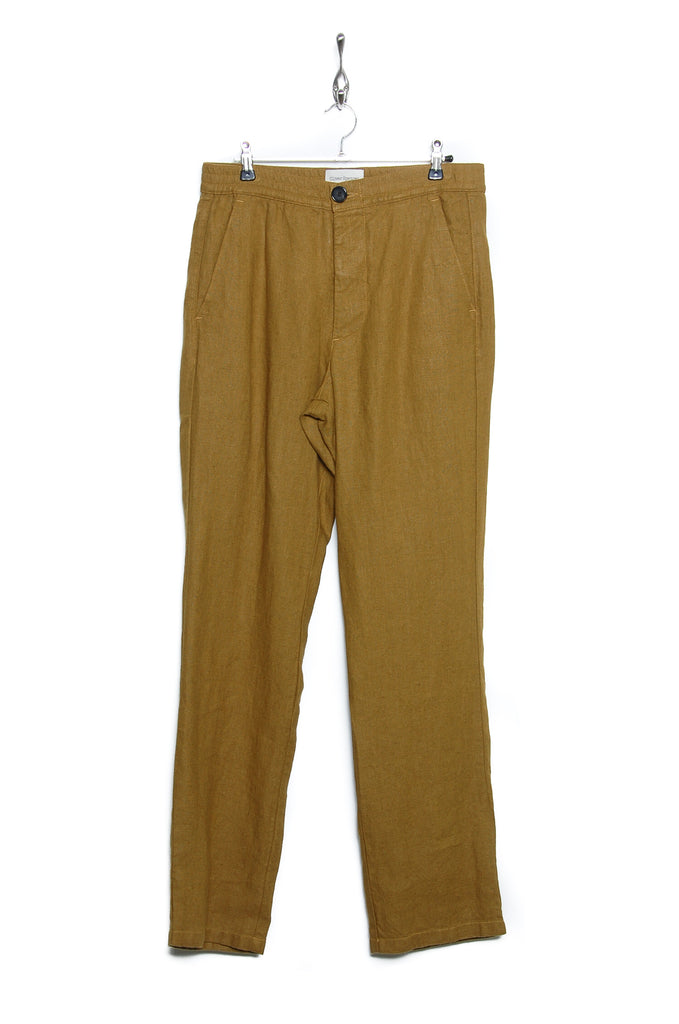Oliver Spencer Drawstring Trouser Evering ochre