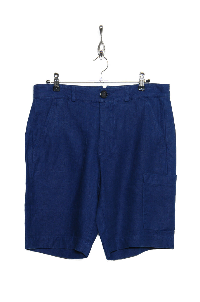 Oliver Spencer Judo Short Evering cobalt blue