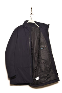 Alchemy Equipment AEM183 Primaloft Insulated City Coat dark navy