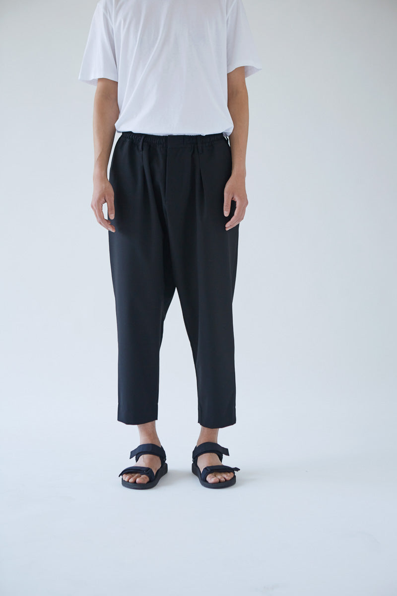 Oftt Pleated Trousers black