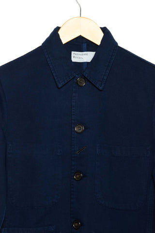 Universal Works Bakers Jacket canvas navy 22525