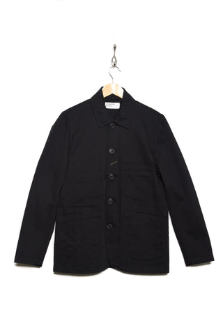 Universal Works Bakers Jacket twill black 00102