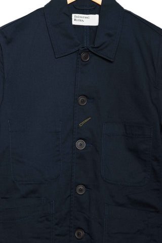 Universal Works Bakers Jacket twill navy 00102