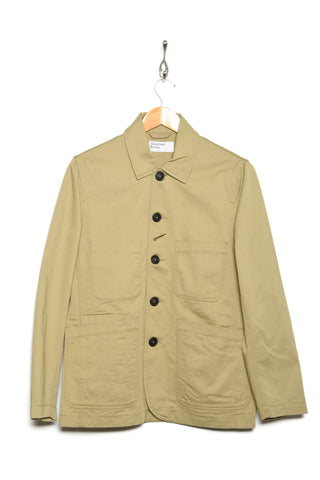Universal Works Bakers Jacket twill sand 00102