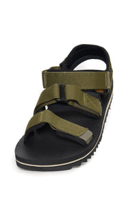 Teva Cross Strap Trail Sandal dark olive