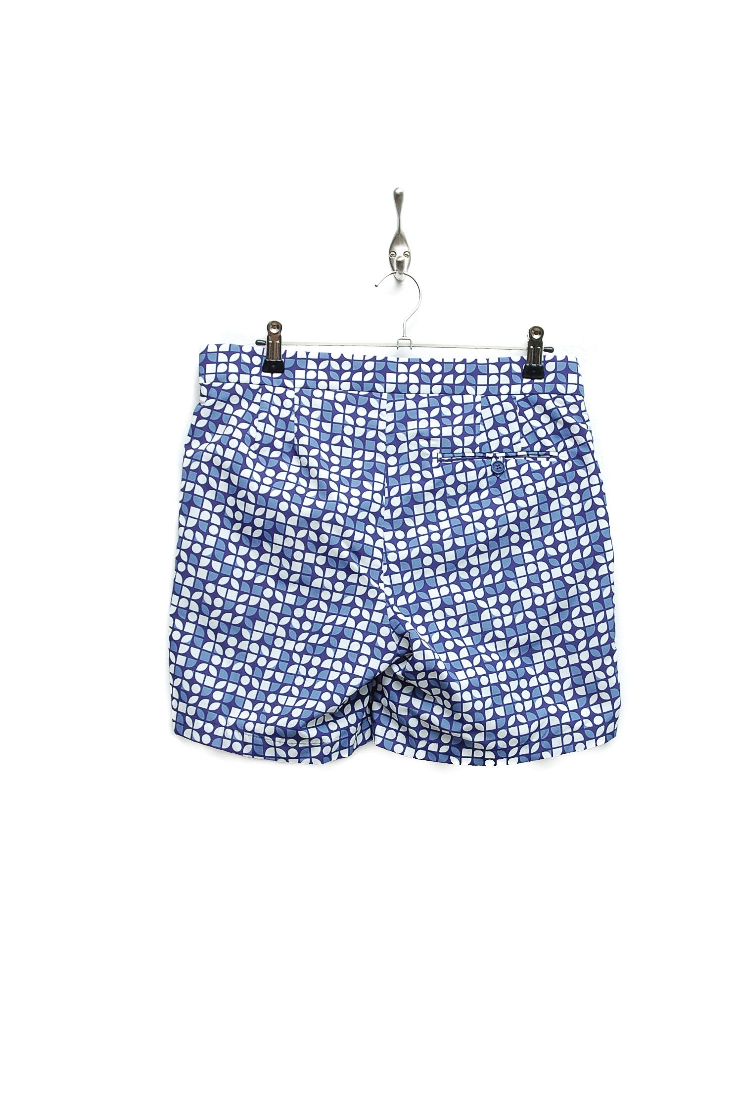 Frescobol Carioca Trunks Tailored Short Cerejeira navy/slate blue