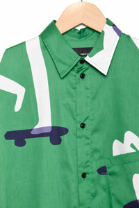 Band Of Outsiders Oversized Skat green