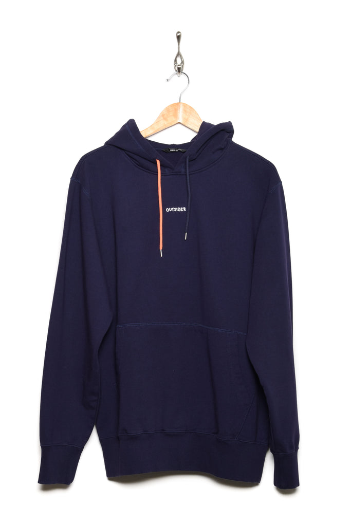 Band Of Outsiders Contrast String Hoodie