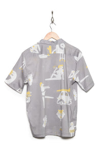 Band Of Outsiders Riso Life Poplin ice grey