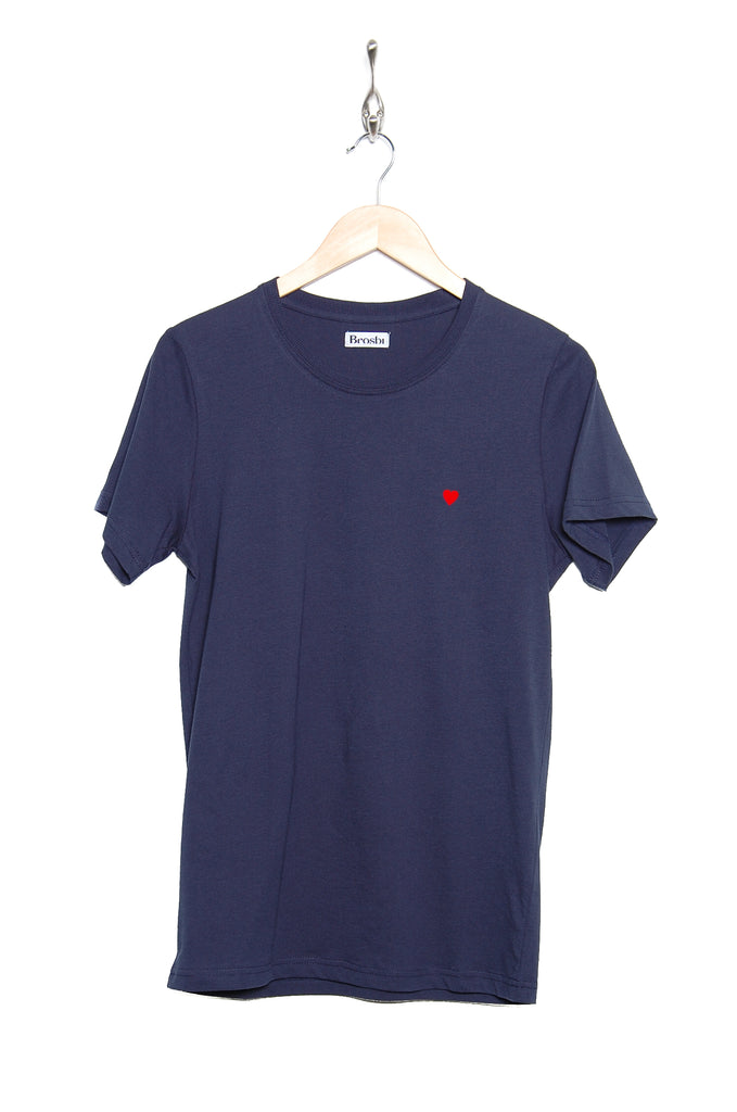 Brosbi The Icon Tee 1065201-1 navy